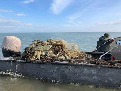 Чорноморський рибоохоронний патруль виявив 30 од. заборонених знарядь лову протягом одного дня